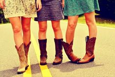 Country Girls # Cowboy Boots # Best Friends # Photography Ideas # Country Life