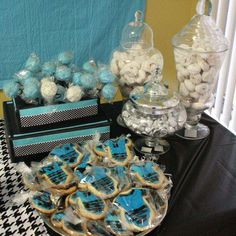 Boys Rock Baby Shower Party Ideas | Photo 2 of 13 | Catch My Party
