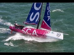 ▶ Volvo Ocean 65 Unleashed - training for the Volvo Ocean Race 2014-15 - YouTube