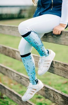 Fineapple Equestrian Riding Boot Sock - dreamers & schemers