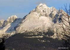 Gerlachovsky stit - the highest peak of High Tatras (Slovakia), it is 2565 meters tall, which makes it the higest peak in Central Europe.