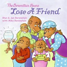 The Berenstain Bears Lose a Friend by Jan Berenstain http://www.amazon.com/dp/0060573899/ref=cm_sw_r_pi_dp_38eUub0VKMFX7