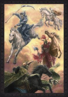 The Four Horsemen Of Apocalypse by Entar0178