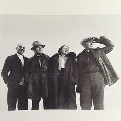 L-R: #elLissitzky, #dzigaVertov, #sophieküppers, #ruvimLissitzky 👁🎥 #ussr #constructivism #agitprop #proun #bolshevik