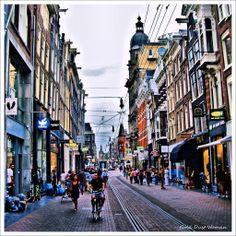 Leidsestraat, Amsterdam.