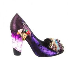 Soooo sweet Kurious Oranj Irregular Choice shoes!; #shoes #heels