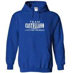 (Tshirt Awesome Gift) Team CASTELLANO Lifetime member Discount 10% Hoodies, Funny Tee Shirts