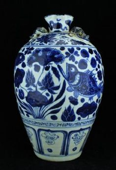 Large Chinese Ming Porcelain Blue&White Vase