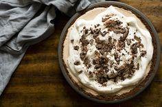 Mexican coffee ice cream pie