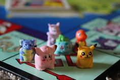 Pokemon-edition Monopoly (1995) | Found on RetroChronicle.com