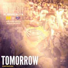 Michigan Women's Basketball Countdown | Sports Marketing Creative