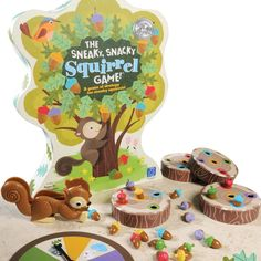 """Learning Resources Sneaky, Snacky Squirrel Game Finde die passende Farbe"""": Amazon.de: Spielzeug"""