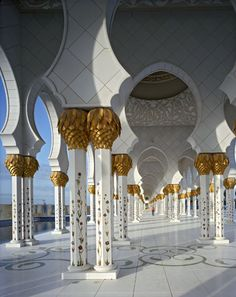 Sheik Zayed Mosque, Abu Dhabi  by Andrew Moore