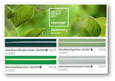 The color of the 2017 according to Pantone? The Greenery! A lively and sparkling green, symbol of rebirth. His strong but also versatilite character makes it perfect to be combined in all its nuances with many other colors both in fashion and furnishings.