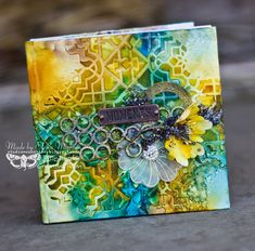 Sunshine Studio: Mini-album+tutorial for Finnabair CT