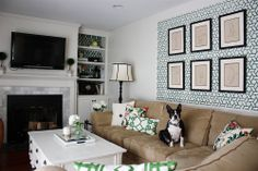 Kelle & Nick's Play of Color and Pattern