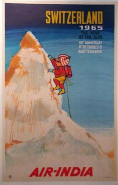 [Switzerland] Air India, 1965