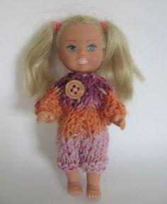 Ubranko dla lalki  ok. 11 cm rampers w nutka_art na DaWanda.com