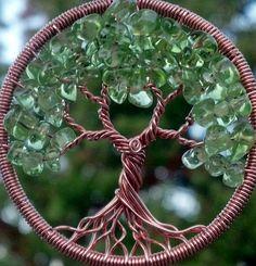 Four Seasons Tree of Life Pendant by ethora on Etsy