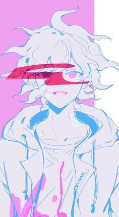 Super Danganronpa, Nagito Komaeda, Danganronpa Characters, Kaito, Death Note, Animes Wallpapers, Pretty Boys, Iphone Wallpaper, Scary