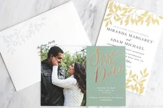 Wedding Planning Month 2: Save the Dates, Invitations & More | Slashed Beauty