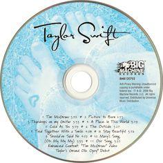 Caratula Cd de Taylor Swift - Taylor Swift