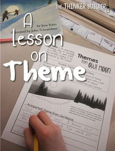 A Lesson on Theme, f