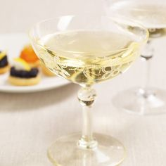 I have these and I LOVE them!!   To serve champagne the old fashioned way....Giarimi Champagne Glasses.