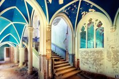 """Sven Fennema is a German photographer passionate about abandoned places that capture to get great images. Creations """"Forgotten Places"""" where nature can have sometimes a new life to discover more."""