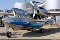 AeroVolga LA-8 -  Is an 8 Seat Amphibious Aircraft Designed and Built in Russia - First Flown in 2004, About Six had Been Sold by mid-2012 (3)