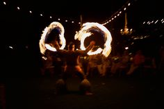 Hawaiian fire dancer - Anna Kim Photography