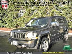 CPO 2015 Jeep Patriot Sport for sale at Tacoma Dodge Chrysler Jeep RAM in Tacoma, WA for $13,809. View now on Cars.com. Jeep Patriot Sport, Dodge Chrysler, Dog Car, Cars, Sports, Hs Sports, Autos, Car, Automobile