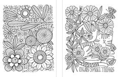 Posh Adult Coloring Book: Cats and Flowers for Fun & Relaxation (Volume Adult Coloring, Coloring Books, Susan Black, Relax, Black Books, Cats, Flowers, Fun, Amazon
