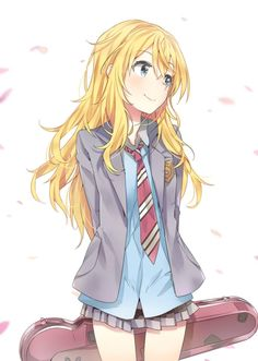 Miyazono Kaori - Shigatsu wa Kimi no Uso - Mobile Wallpaper - Zerochan Anime Image Board Manga Girl, Manga Anime, Anime Chibi, Anime Art, Kawaii Anime Girl, Anime Girls, Kaori Anime, Humour Geek, Otaku