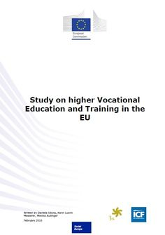 Study on higher vocational education and training in the EU