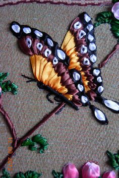 Wonderful Ribbon Embroidery Flowers by Hand Ideas. Enchanting Ribbon Embroidery Flowers by Hand Ideas. Embroidery Designs, Ribbon Embroidery Tutorial, Embroidery Supplies, Silk Ribbon Embroidery, Learn Embroidery, Embroidery Stitches, Embroidery Patterns, Hand Embroidery, Embroidery Techniques
