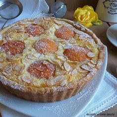 Italian Desserts, Just Desserts, Italian Recipes, Bakery Recipes, Dessert Recipes, Cooking Recipes, Flan, Torte Cake, Work Meals
