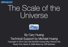 Educational Technology Guy: The Scale of the Universe - explore how big the universe is