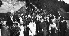 Lokalhistorisk biletsamling i Tysnes: Trommeslagarane