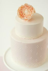 hello naomi: pink peony cake