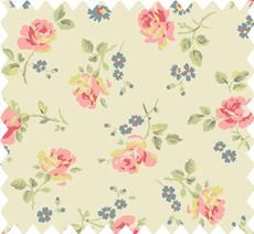 vintage inspired fabric