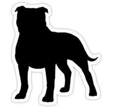 pitbull silhouette - Yahoo Image Search Results