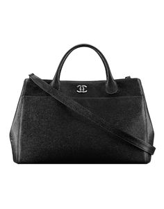 83cbe58196dc Grained calfskin shopping bag with... - CHANEL Chanel 2015
