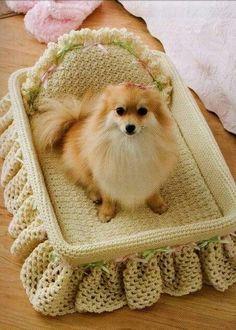 Лежак для красотки