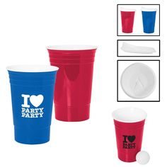 Promotional 16 oz. GameDay Tailgate Cup | Customized 16 oz. GameDay Tailgate Cup | Promotional Plastic Cups