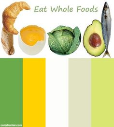 The Right Food For A Fat Loss / Muscle Gain Diet Color Scheme