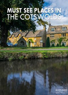 These must see places in The Cotswolds sum up the quintessential country cottages and beautiful scenic landscape of the area. Stop off in Stow-on-the-Wold for a cream tea before exploring one of Britain's prettiest villages and 'Little Venice' Bourton-on-the-Water.