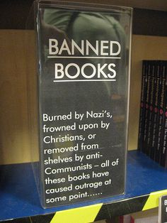 Banned Books by duncan, via Flickr