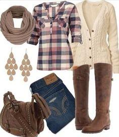Fab flannel!! Fall fashion!