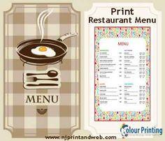 Online #Restaurant #Menu #Printing - Spread your menu among the populace and inspire their appetite. http://www.njprintandweb.com/printing/print-restaurant-menu/